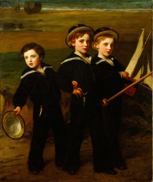John, Cecil and Everard Baring by James Sant (1872) © The Baring Archive Ltd.