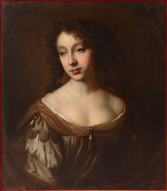 Portrait identified as Elizabeth Cockayne (1609-1668), sold by Mallams Auction House, 2016