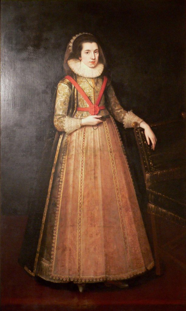 Portrait of Lady Anne Clifford by an unknown artist, courtesy of a private collection