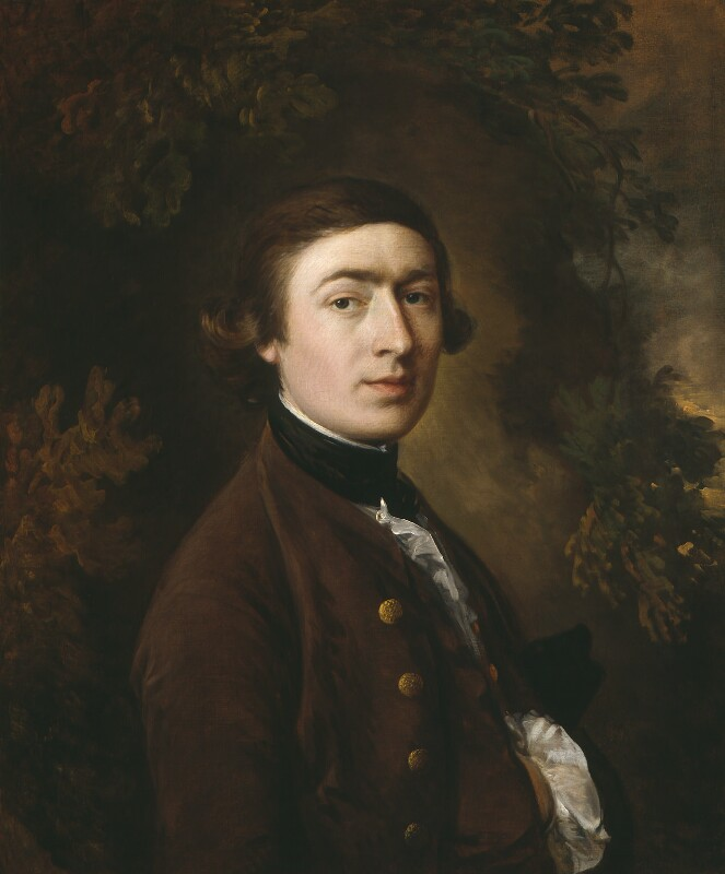 Self-portrait by Thomas Gainsborough, oil on canvas, circa 1759 © National Portrait Gallery, London