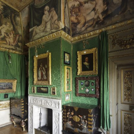 View of the Green Closet at Ham House, Surrey ©National Trust Images/John Hammond