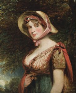 Lady Louisa Tollemach, Countess of Dysart (1745-1840) by John Constable RA, after John Hoppner. Ham House, Surrey ©National Trust Images/John Hammond
