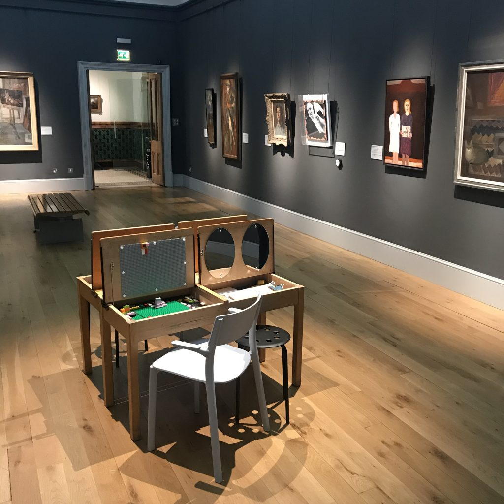 Installation shot of 'See Portraits, Be Portraits' at Brighton Museum, October 2018 to July 2019