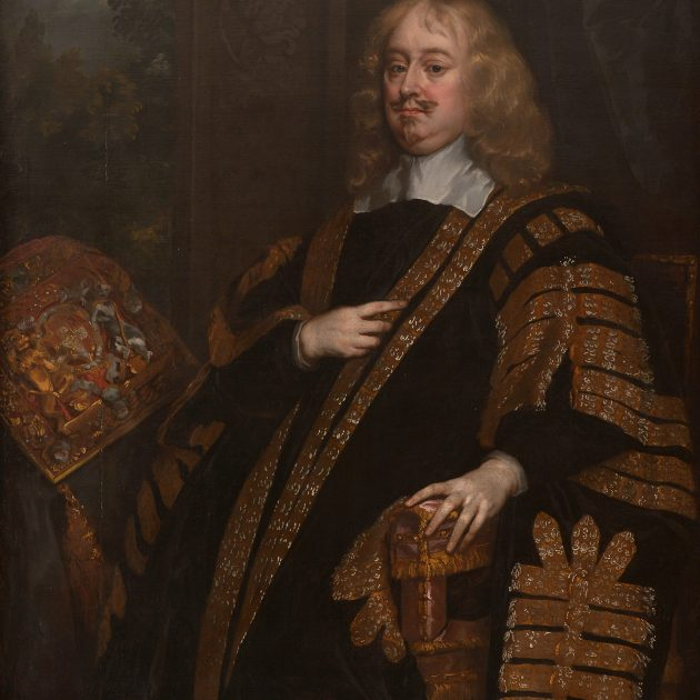Edward Hyde, 1st Earl of Clarendon (1609 – 1674), Lord Chancellor, attributed to Sir Peter Lely. Photographer Chris Christodoulou © The Honourable Society of the Middle Temple