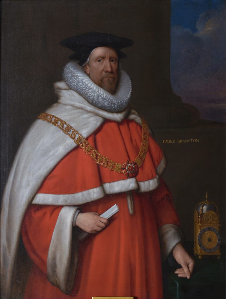 Sir John Bramston (1577 – 1654), Chief Justice of the King's Bench, attributed to Sir Peter Lely. Photographer Chris Christodoulou © The Honourable Society of the Middle Temple