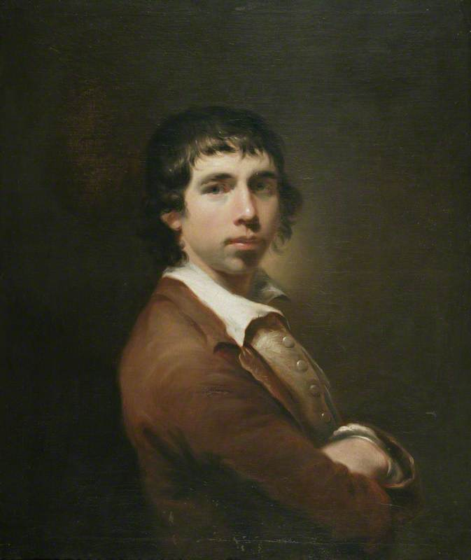 1. Daniel Stringer, Self Portrait, c.1776, oil on canvas, 92.5 x 80 cm. Manchester Art Gallery. Photo credit: Manchester Art Gallery
