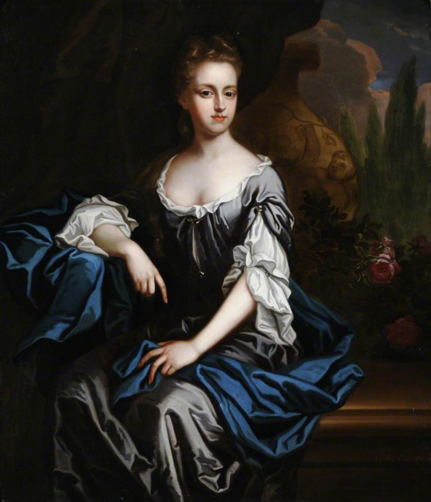 3. British (English) School, Portrait of an Unknown Lady in Blue, late 17th C, oil on canvas, 127 x 101.5 cm. National Trust, Treasurer's House, York © National Trust Images