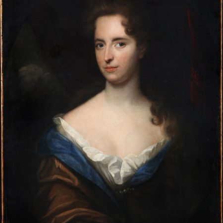 Portrait by Herman Verelst, dated 1688. Agnes Etherington Art Centre of Queen's University, Kingston, Ontario.