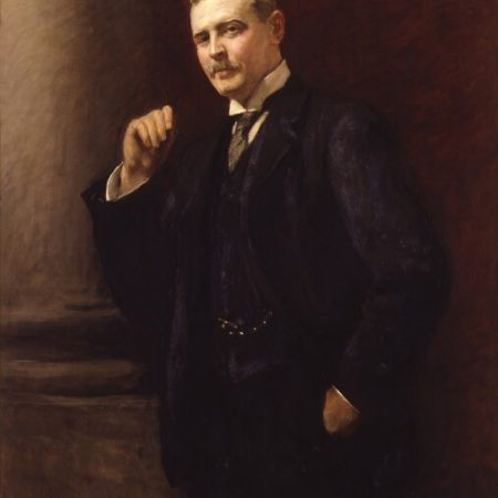Charles Rothschild (1877-1923), banker and entomologist, by Sir Hubert von Herkomer oil on canvas, 1908 © National Portrait Gallery, London