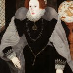 Queen Elizabeth I by unknown artist, c.1583, oil on panel. Reproduced by permission of the Provost and Fellows of Eton College.