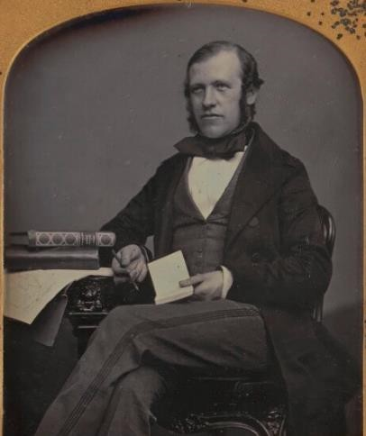 Fig. 3. Sir George Scharf by William Edward Kilburn. Daguerreotype, circa 1847. National Portrait Gallery, London (NPG P859)