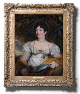 Elizabeth Benyon de Beauvoir by Samuel Lane (1780-1859)