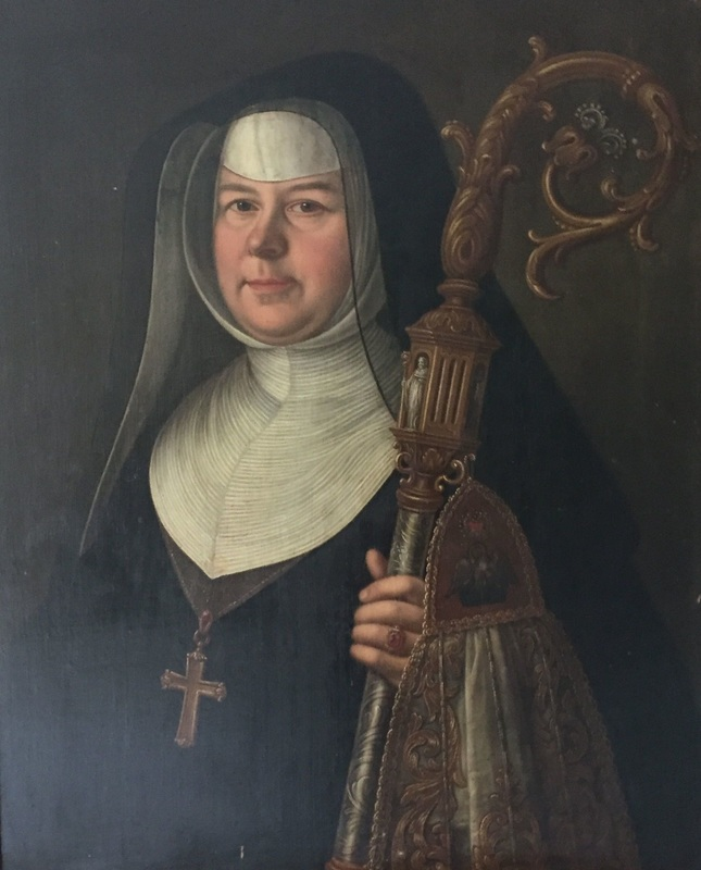 Abbess Etheldreda Mannock, 11th abbess (1762-73) of the English Benedictine nuns of Brussels (1599-1794) by an unknown artist. © Trustees of Douai Abbey