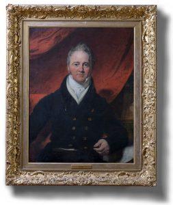 Richard Benyon de Beauvoir (1770-1854) by Samuel Lane (1780-1859)