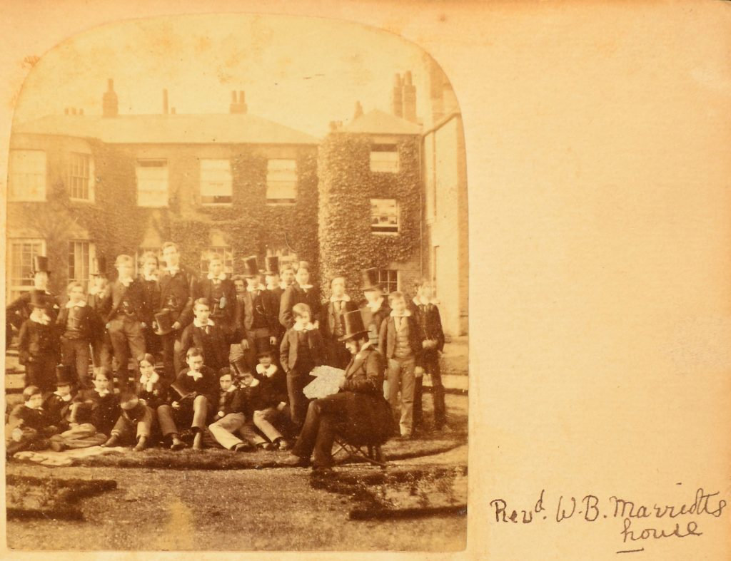 Marriott House Group, Eton College, 1862. Reproduced by permission of the Provost and Fellows of Eton College