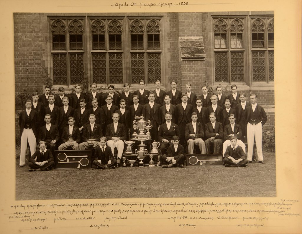 Hill House Group, Eton College, 1939. Reproduced by permission of the Provost and Fellows of Eton College