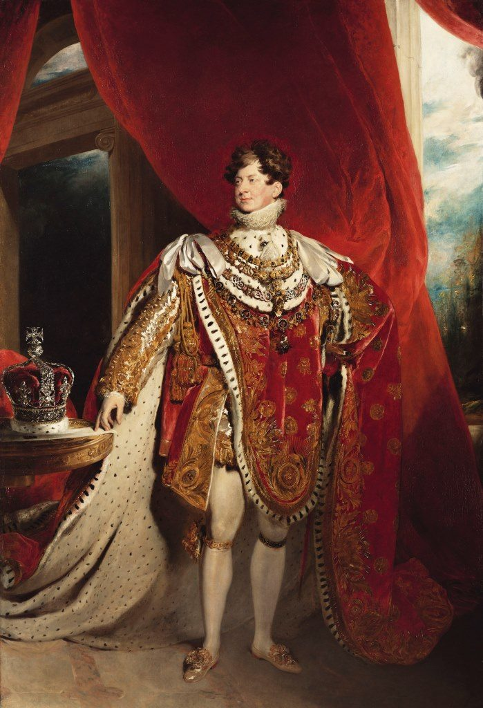 George IV by Sir Thomas Lawrence, 1821. Royal Collection Trust / © Her Majesty Queen Elizabeth II 2019.