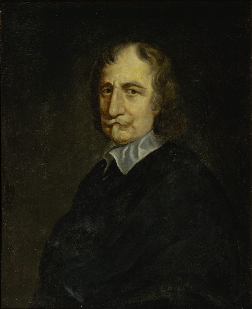 Portrait of Thomas Hobbes by William Dobson the Younger (ca.1640s) © The Royal Society