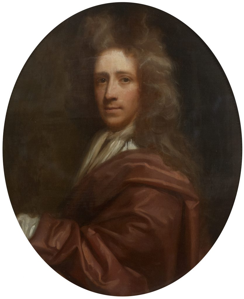 Portrait of Richard Waller by Thomas Murray (ca. early 18th century) ©The Royal Society