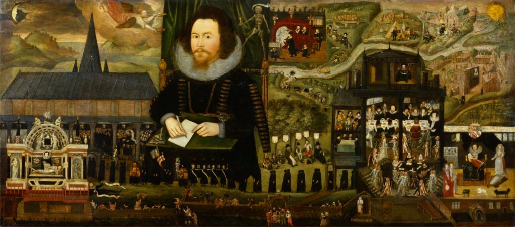 Sir Henry Unton (ca.1558-1596) by unknown artist, oil on panel, c.1596 © National Portrait Gallery