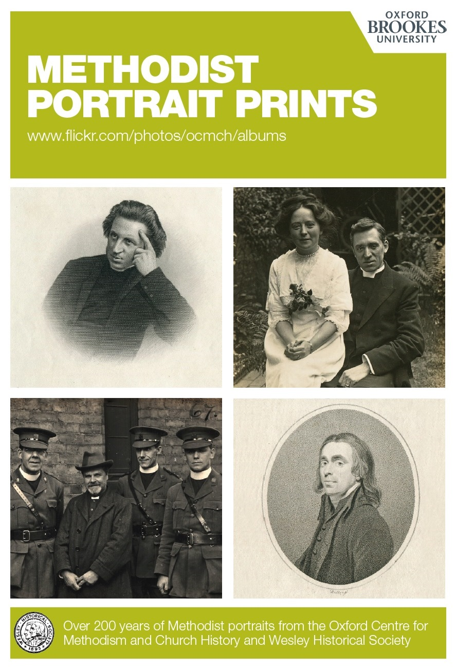 Methodist Portrait Prints online resource