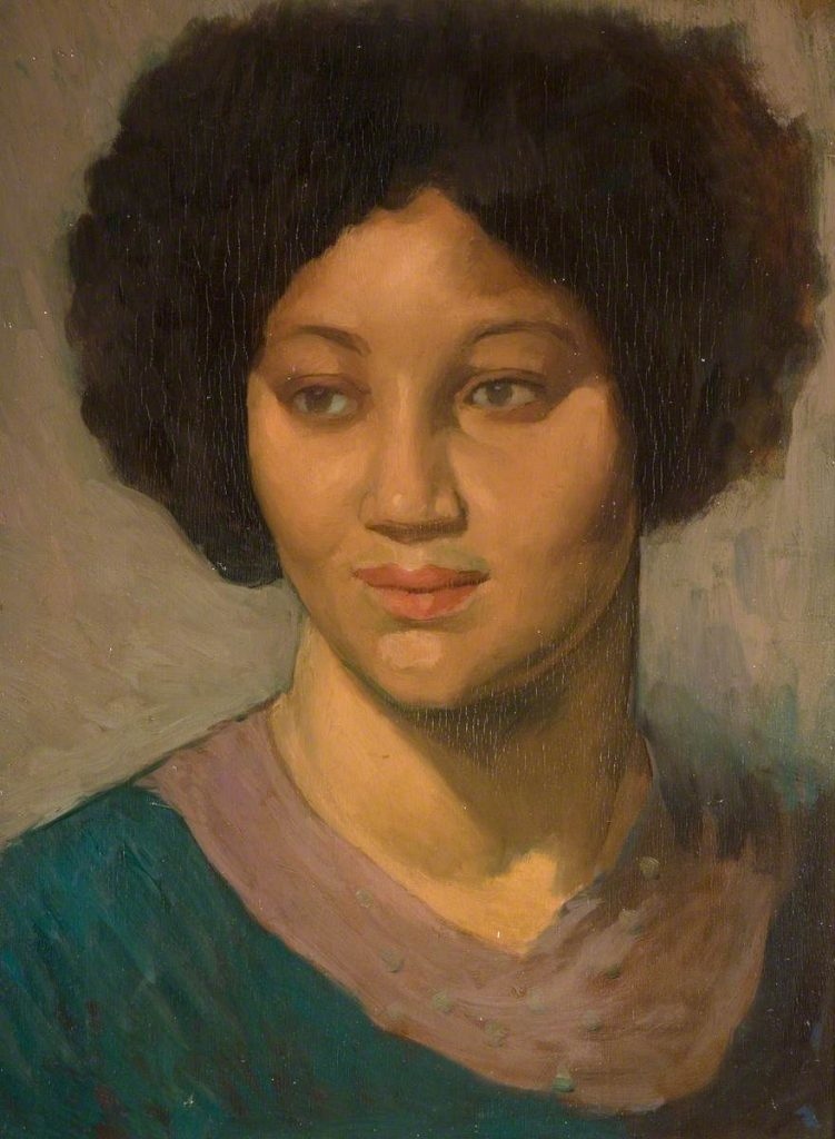 A Girl from Afar, John Currie (1883-1914) Photo credit: The Potteries Museum & Art Gallery