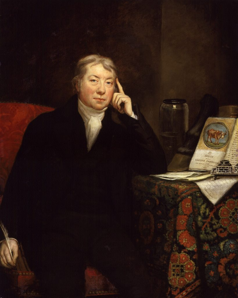 Edward Jenner by James Northcote, oil on canvas, 1803. NPG 62 © National Portrait Gallery, London