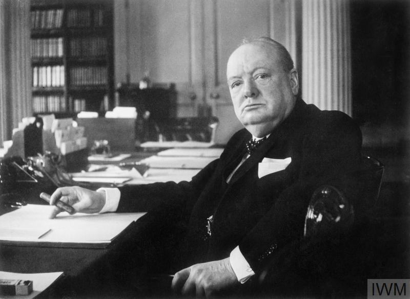 Winston Churchill, by Cecil Beaton, 1940. IMW MH 26392 © IWM. Collection National Portrait Gallery, London