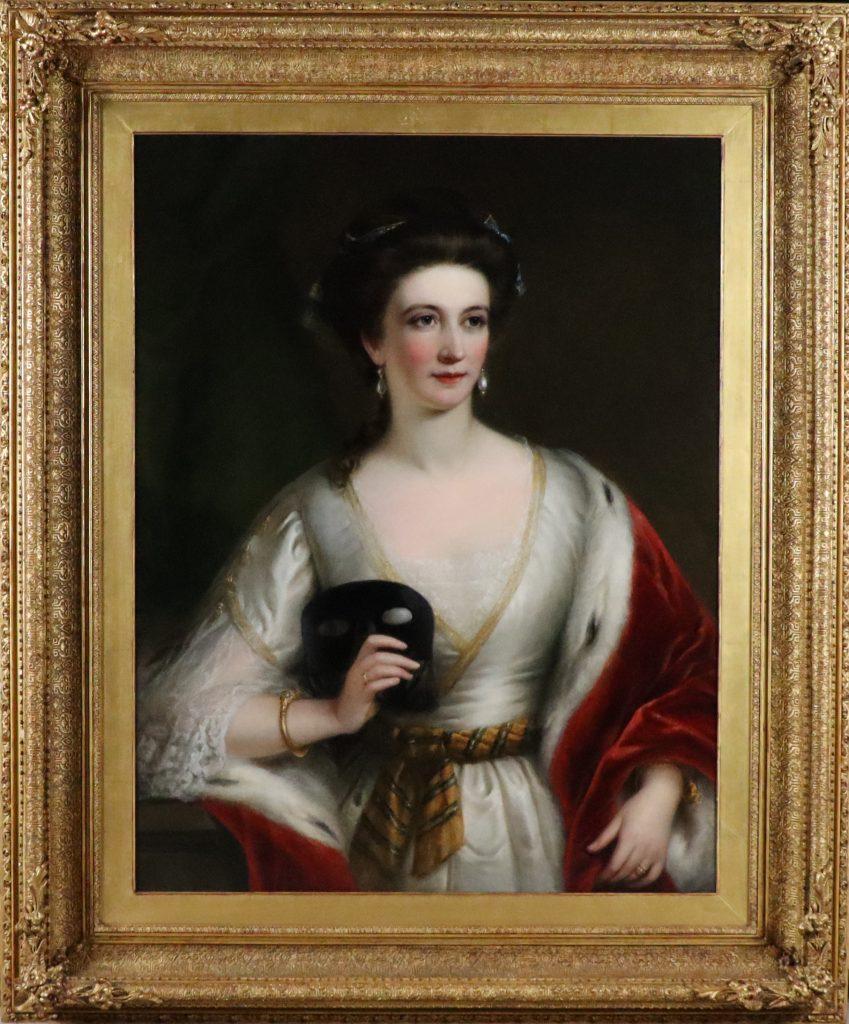 Bavarian lady, c1850.